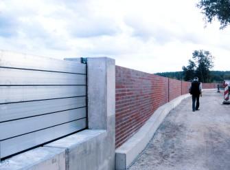 Système de batardeaux à poutres en aluminium thyssenkrupp