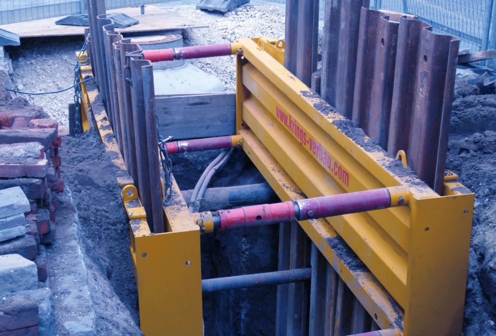 KRINGS Universal DKU piling frame element