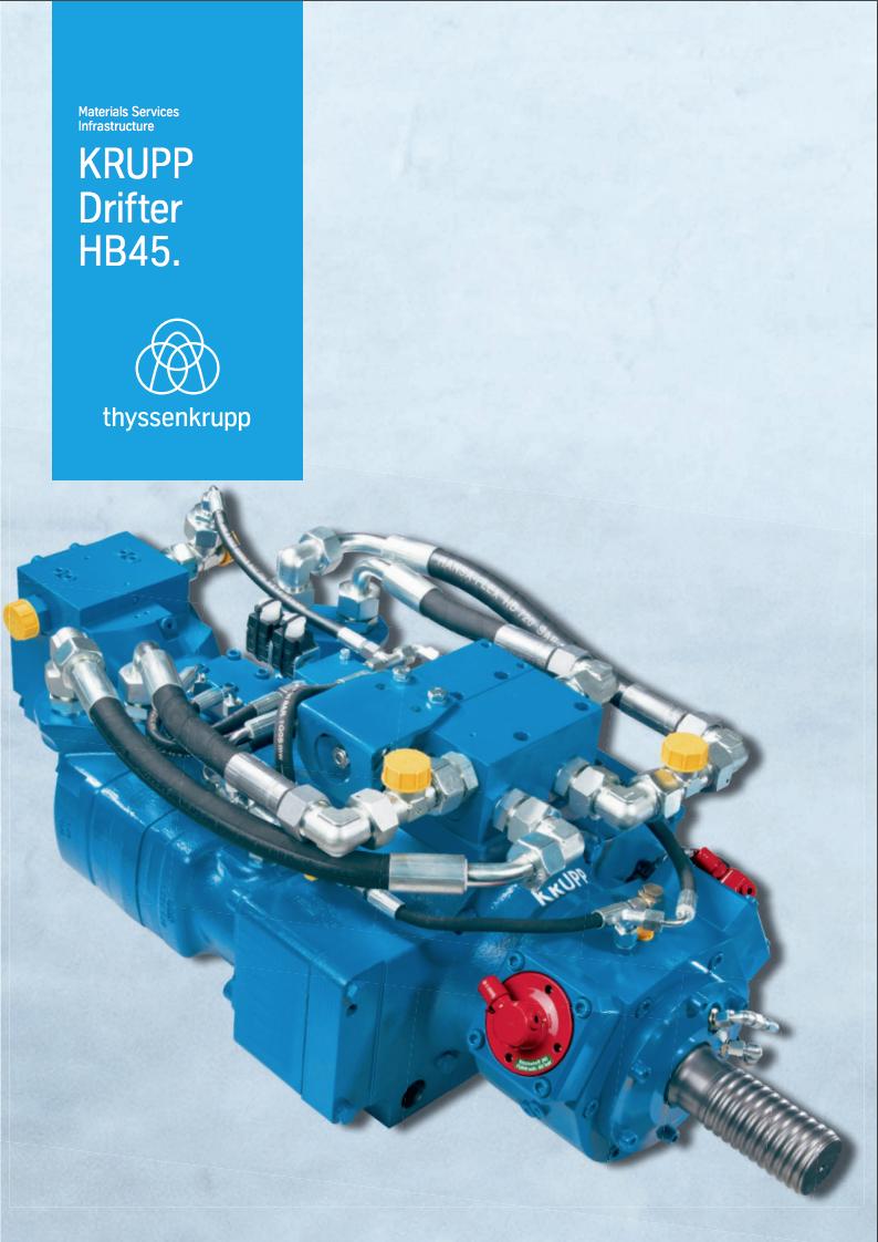 thyssenkrupp Drifter HB45
