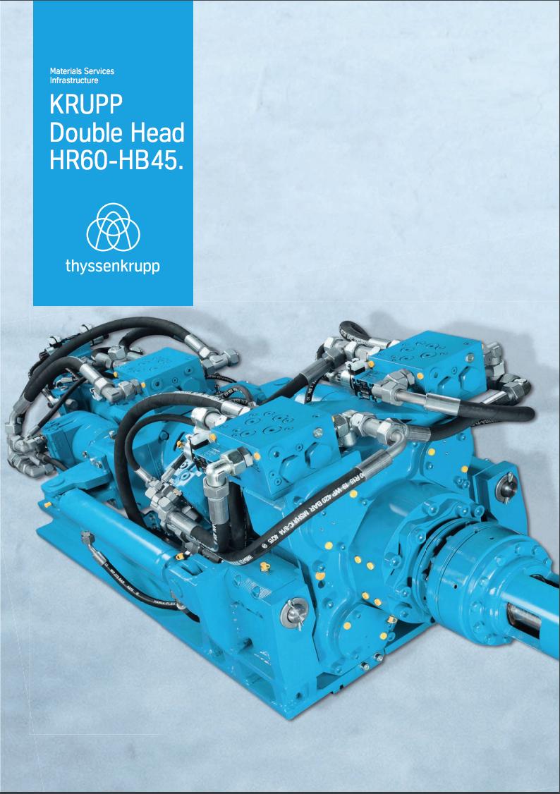 thyssenkrupp Double Head HR60-HB45.