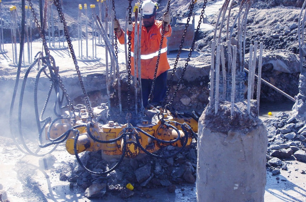 Concrete Pile Breakers for Round Piles