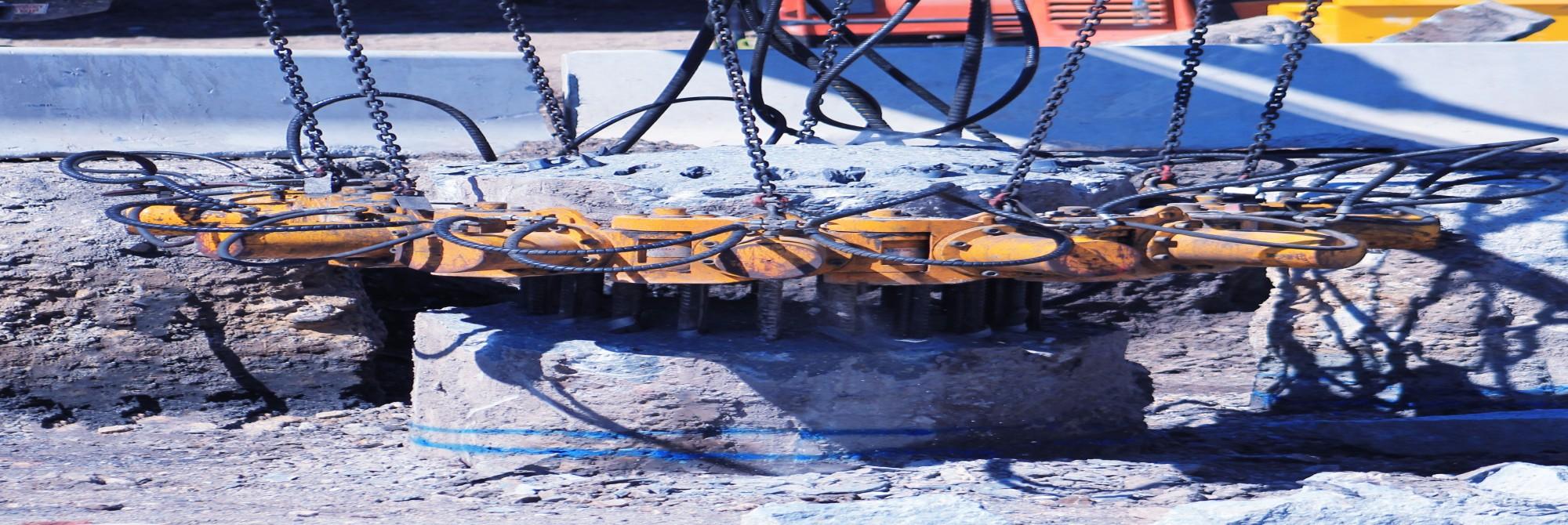 Concrete Pile Breakers