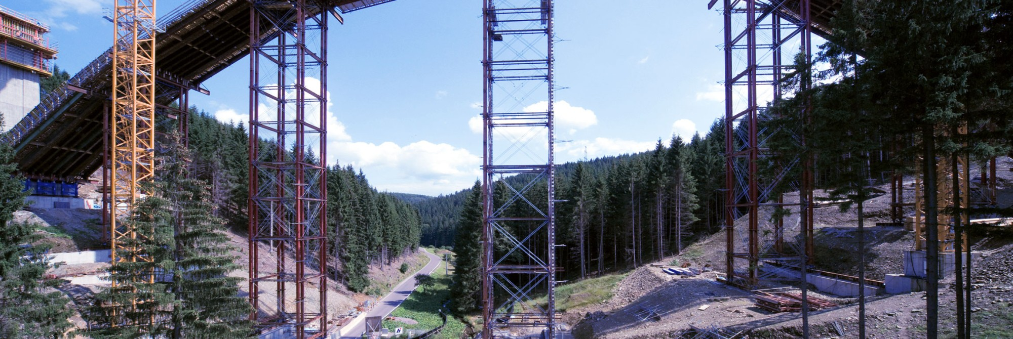 Innovative: Our stationary scaffolds
