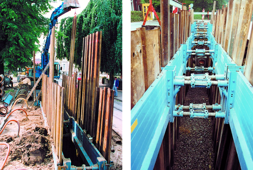 Sheet pile element (before 092009)