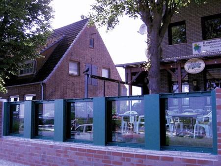 Clear view: glass panels in Neufelderkoog.