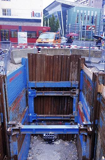 Sewer redevelopment
