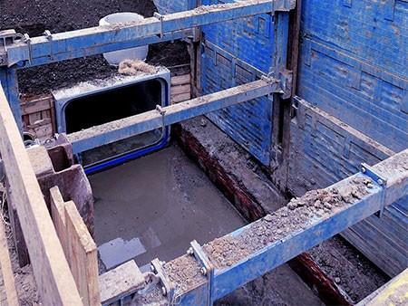 Kanalsanierung / Canal refurbishment