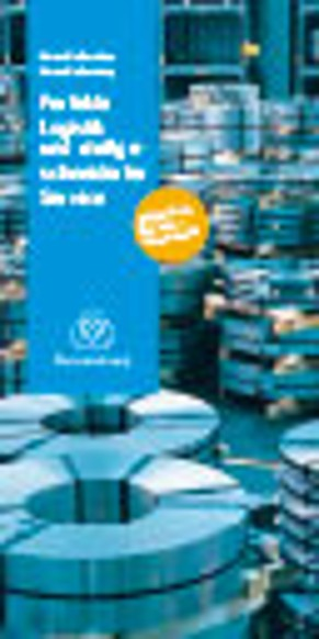 Flyer Edelstahl-Flachprodukte