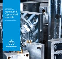 aluminum copper mold materials for plastics industry