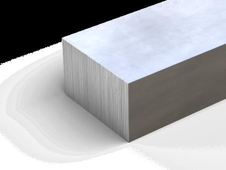 "48.0/"" 1/"" x 2/"" Aluminum Rectangle Bar 6061-T6511-Extruded"
