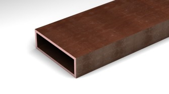 copper rectangular tube products thyssenkrupp materials na