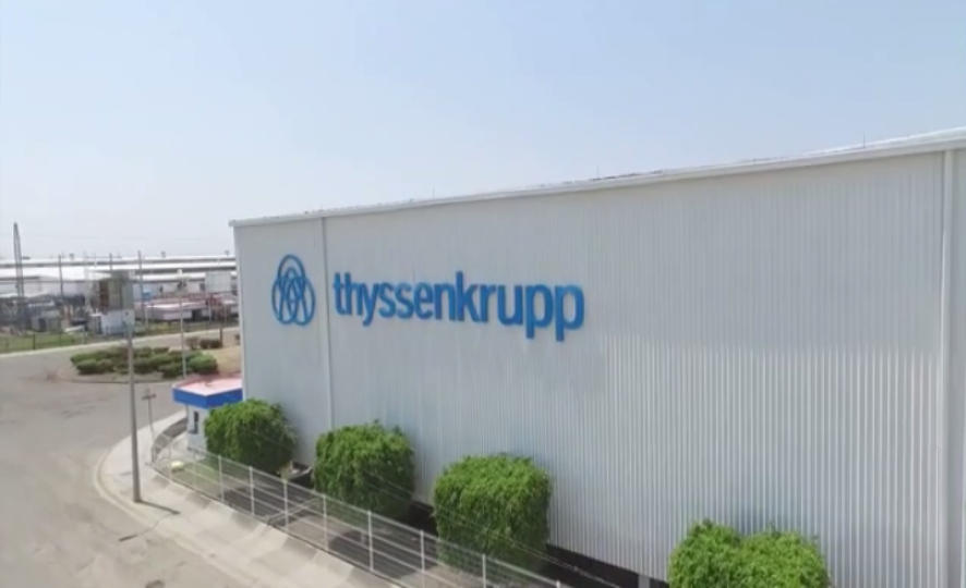 thyssenkrupp Materials de Mexico - Silao - aluminum and steel blanking line