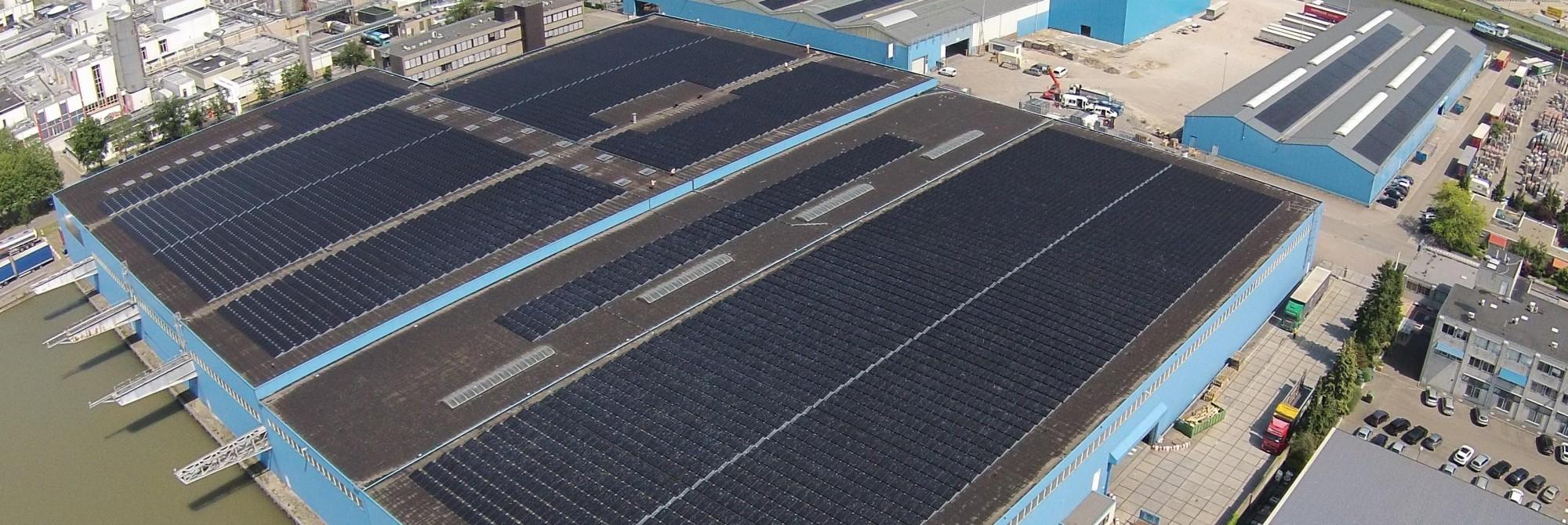 Bijdrage aan een beter milieu door 13.000 zonnepanelen