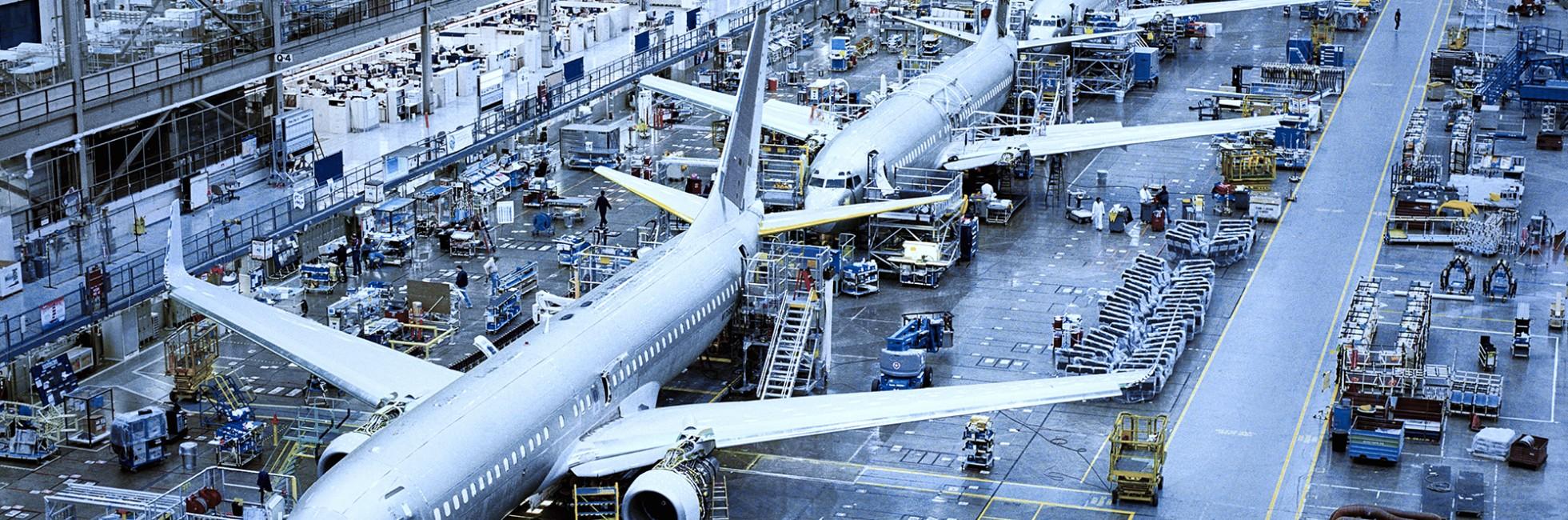 Vliegtuigindustrie