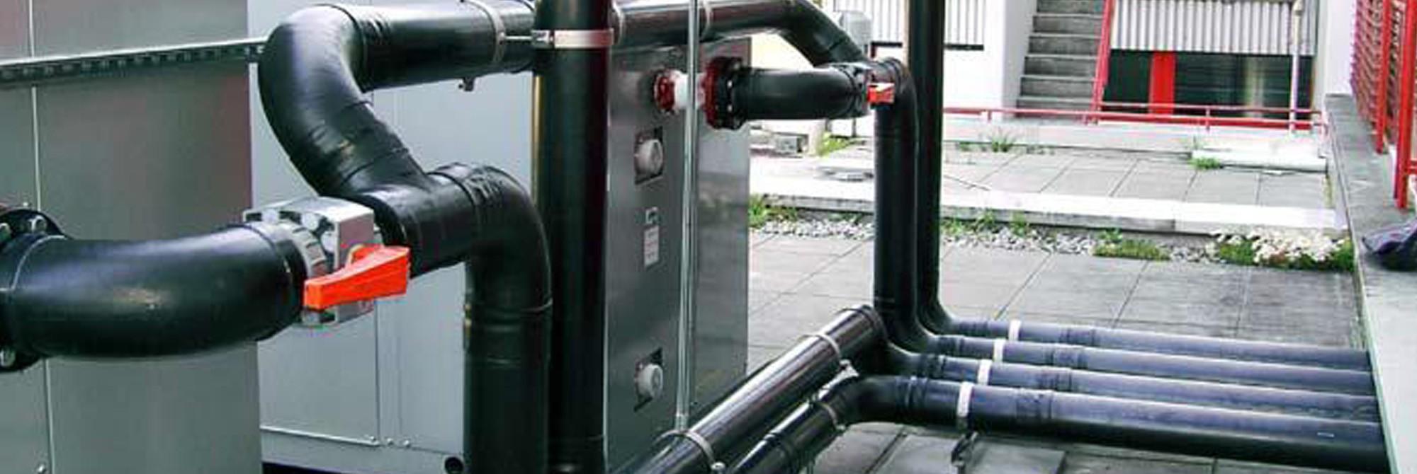 Formteile und Rohre für die Lüftungstechnik