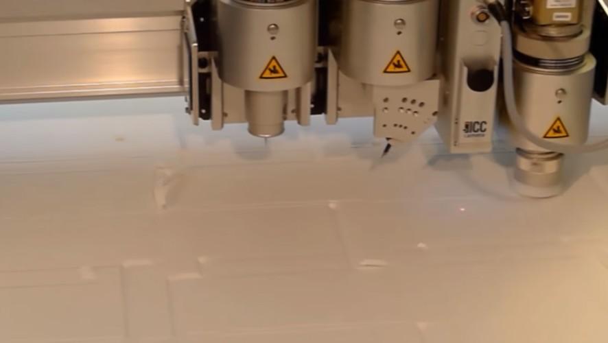 Schneiden von KAPA Leichtschaumstoffplatten