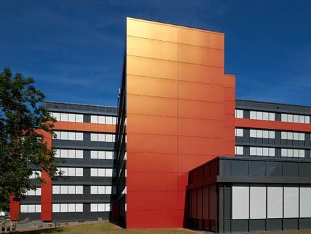 ALUCOBOND® Fassadensarnierung Finanzamt Saarlouis