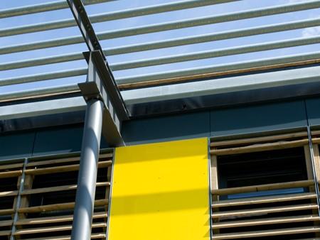 BVB Trainingszentrum Fassadengestaltung