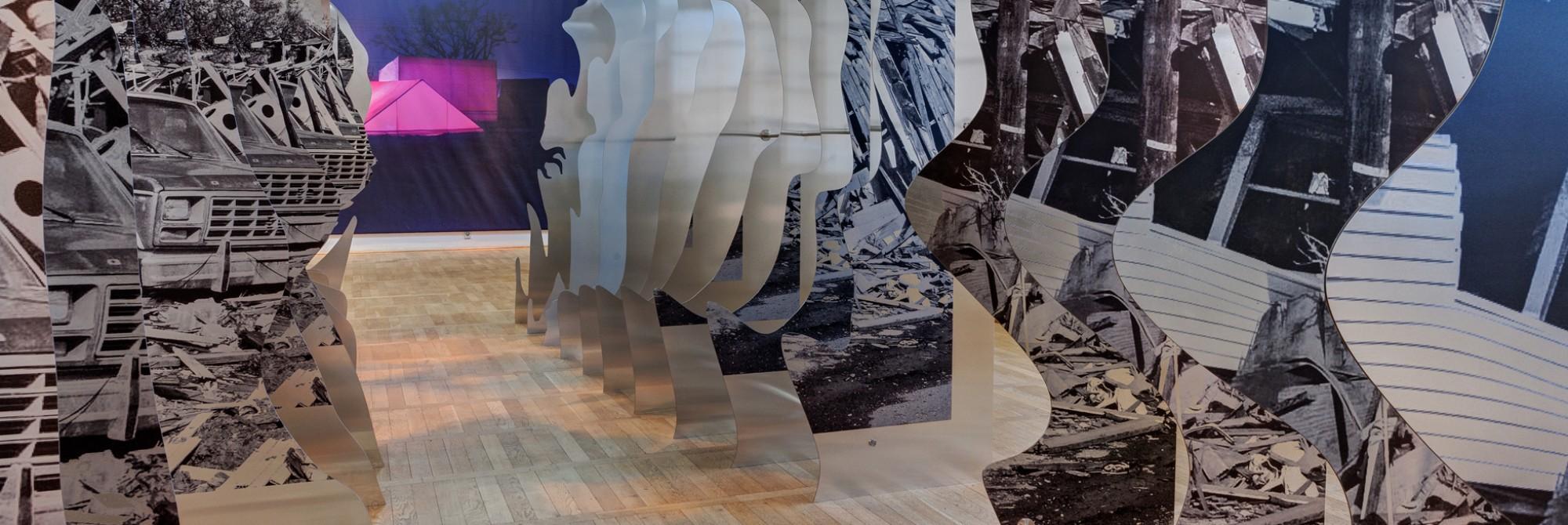 Dibond® Kunst in 3D