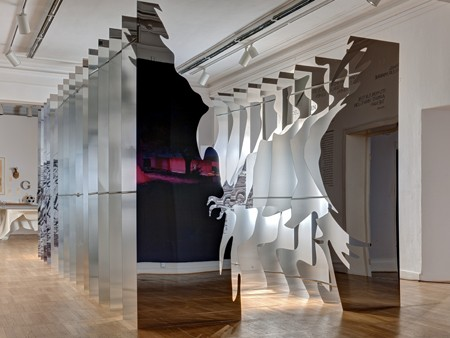 Dibond Kunst in 3D