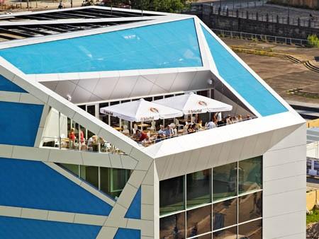 Humboldt-Box Dachterrasse