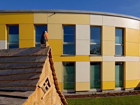 Max Exterior NT Fassade für Kindertagesstätte