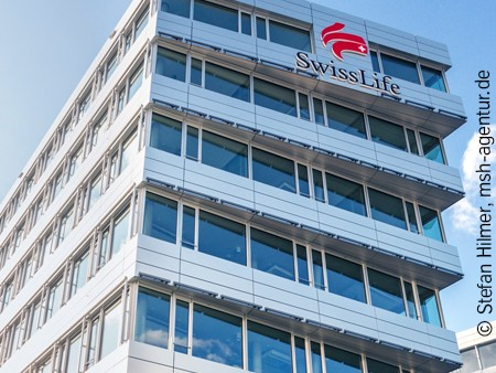 neue Fassade für Swiss Life