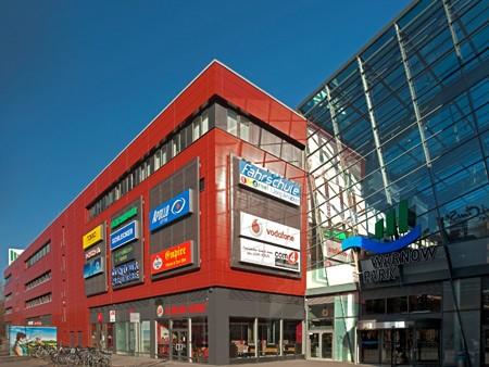 neue Alucobond Fassade in Rostock