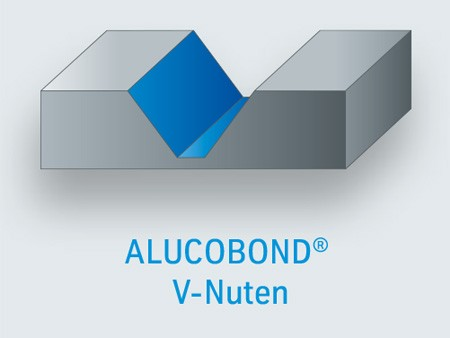 PSC ALUCOBOND V-Nuten