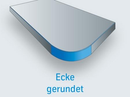 PSC Ecke gerundet