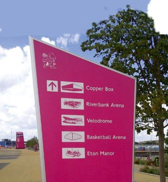 DILITE® UK Wayfinding Signs Olympics