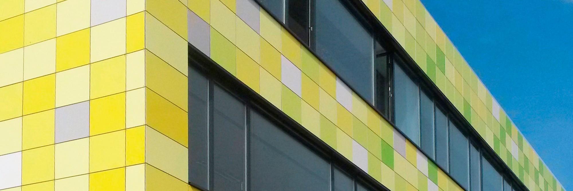 Fassadenbau - Alupanel
