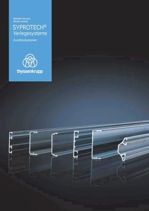 Syprotech® Verlegesysteme Grundkomponenten