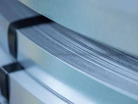 Schmelztauchveredeltes Feinblech Spaltband Oberflächenveredeltes Feinblech