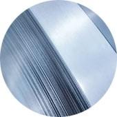 Electrolytically coated sheet