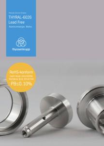 Aluminium-Rundstangen EN AW-6026 Lead Free – in Zukunft bleifrei