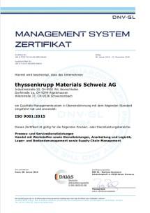 ISO 9001:2015 (Deutsch)