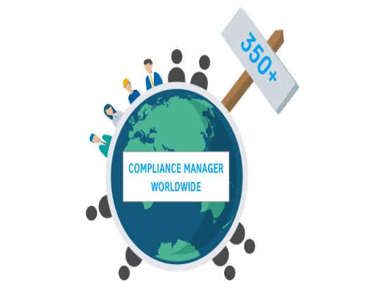 Over 350 Comliance Manager worldwide