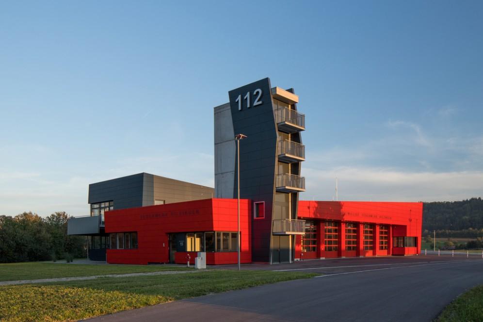 Rettungszentrums in der Gemeinde Hilzinge