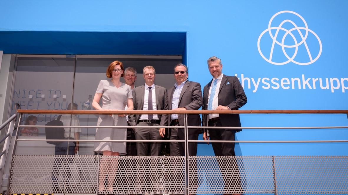 thyssenkrupp Aerospace and Sonaca