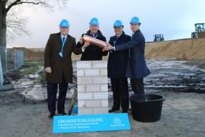 Laying of the foundation stone Rotenburg