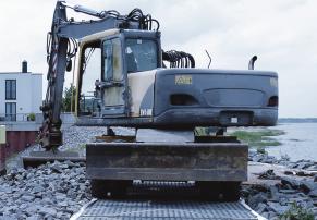 Produkthighlights aus dem Grabenverbau, Kunststoffbautrasse