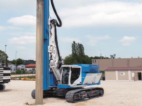thyssenkrupp Infrastrucutre - RTG Pile driving equipment