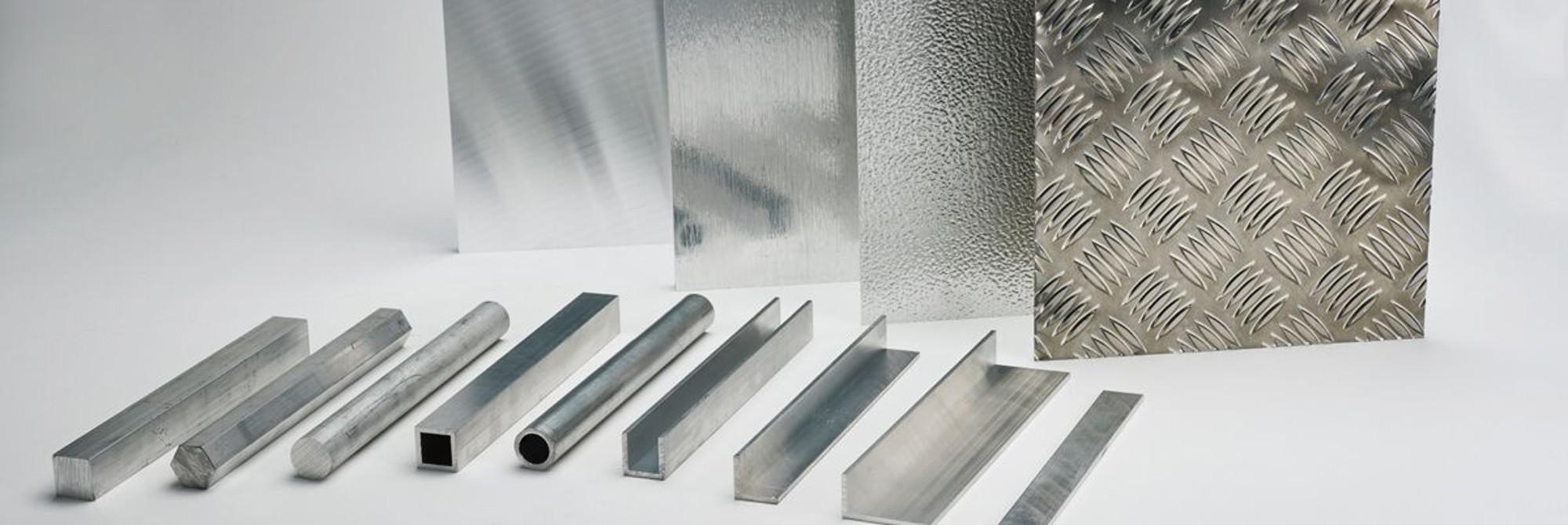 Aluminium surface finishes