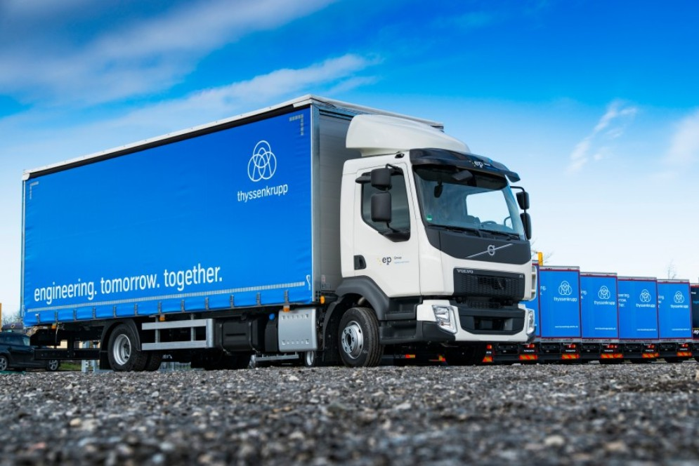 HGV's are generally manufactured with aluminium frames to save weight