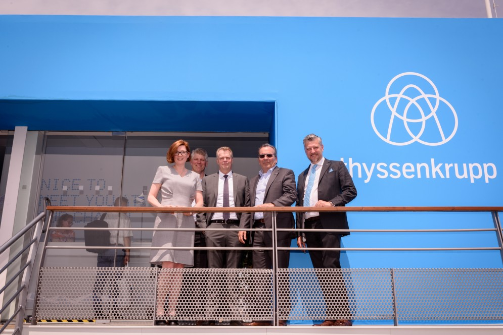thyssenkrupp Aerospace and Sonaca