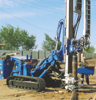 KRUPP Double-head drilling systems and drilling rigs