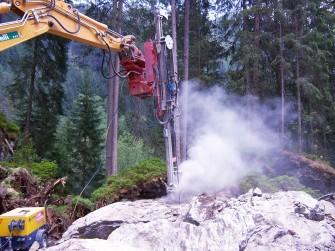 KRUPP hydraulic hammer drills