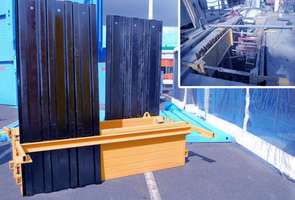 KRINGS piling frame element BLU