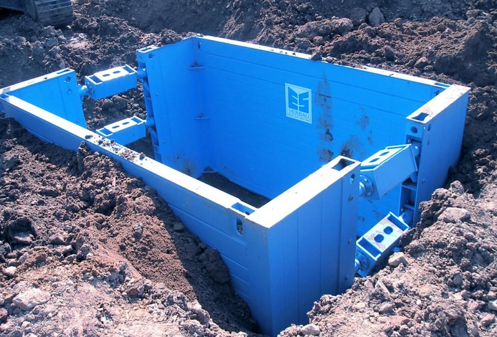 Manhole-boxes
